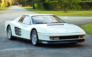 Miami Vice Ferrari Testarossa goes under the hammer