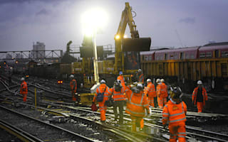 Misery for rail passengers as Christmas engineering work announced