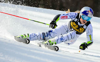 Vonn crashes out as Rebensburg wins in Maribor