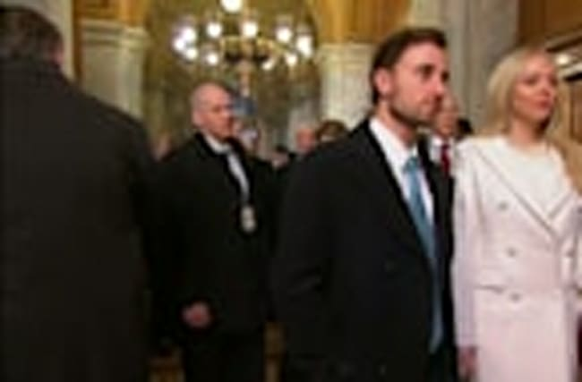 Republican faces - old and new - arrive at the Capitol