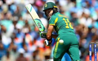 Du Plessis: Proteas let De Villiers down