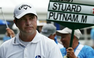 Stuard takes 36-hole lead at rain-interrupted Zurich Classic