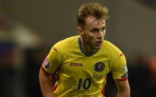 Stuttgart midfielder Maxim among five cut from Romania's Euro 2016 squad