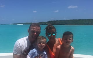 Wayne Rooney shares photo of family on exotic holiday