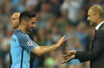 Gundogan hails 'amazing' duo Guardiola and Klopp