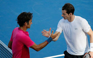 Murray delighted by Federer return