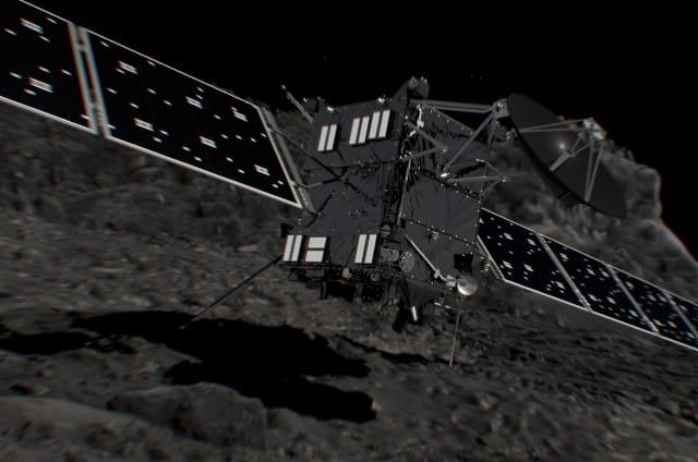 Sigue en directo cómo se suicida Rosetta en su cometa 67P