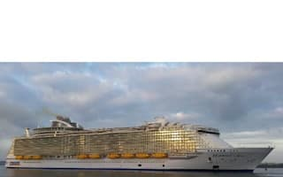 Harmony of the Seas: World's largest cruise ship sails into UK