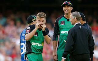 Nevill 'nose' little about freak BBL dismissal