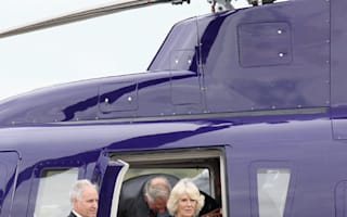 Prince Charles and Camilla in mid-air helicopter terror