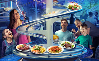 Win! A break at Alton Towers with dinner at the new Rollercoaster Restaurant