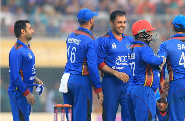 Afghanistan seal series over pitiful Zimbabwe