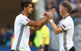 Khedira unhappy with United's Schweinsteiger treatment