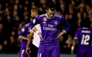 Valencia 2 Real Madrid 1: Zaza stunner hands title hope to Barcelona