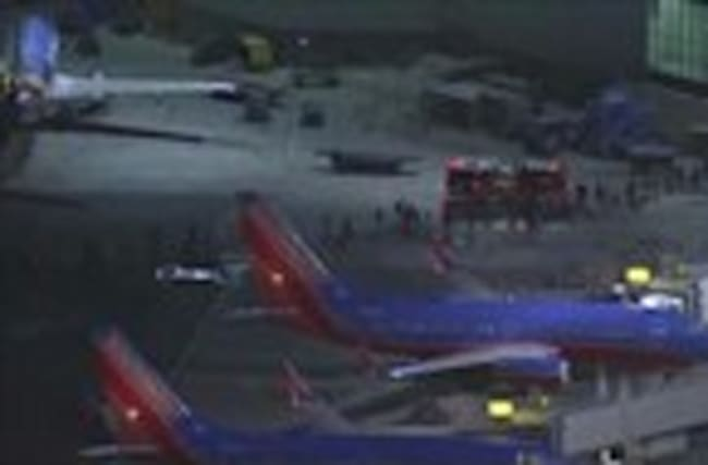 Police: reports of gunfire at LA airport were false alarm