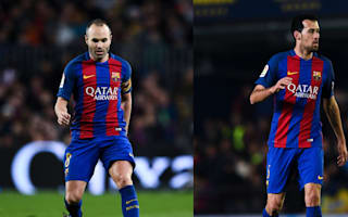 Iniesta, Busquets return for Barcelona