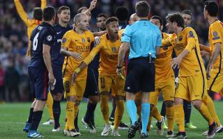 Alba: It was a penalty