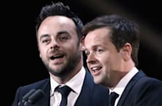 Ant and Dec apologise for competition winner's reaction