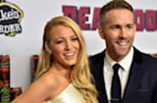 Blake Lively Adorably Wishes Hubby Ryan Reynolds a Happy 40th Birthday!