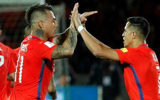 Chile 3 Uruguay 1: Sanchez scores brace in return