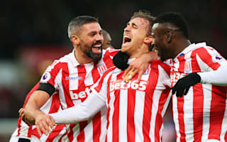 Stoke City 2 Burnley 0: Hughes' men continue strong run with straightforward win