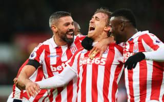 Stoke City 2 Burnley 0: Hughes' men continue strong run with straightforward win