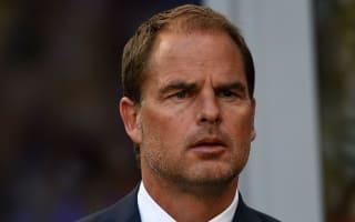 De Boer encouraged as Inter's wait continues