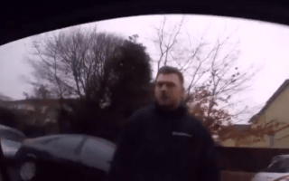 Shocking road rage caught on camera
