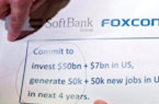 Foxxconn to expand U.S. investment
