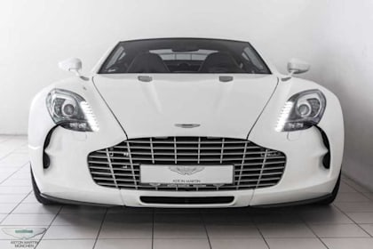 Pristine Aston Martin One-77 for sale for $3.2million