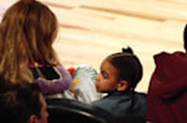 Blue Ivy Wore an $1,800 Gucci Dress to the NBA All-Star Game