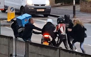 Good Samaritans stop thieves from stealing motorbike