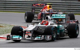 Schumacher to 'certainly' stay in 2012