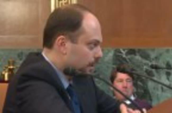 Russian opposition activist chastises Putin regime
