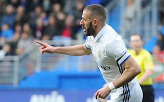 Eibar 1 Real Madrid 4: Benzema steps up in Ronaldo's absence