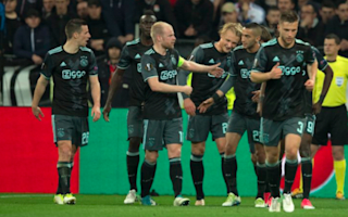 Lyon 3 Ajax 1 (4-5 agg): Lacazette brace in vain as Dolberg sends Dutch side into final