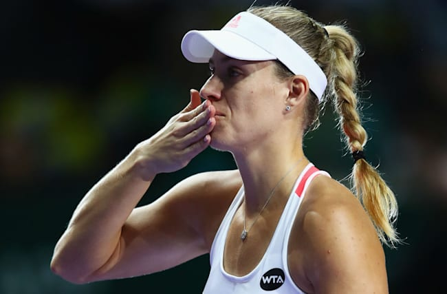 Cibulkova through after Kerber beats Keys