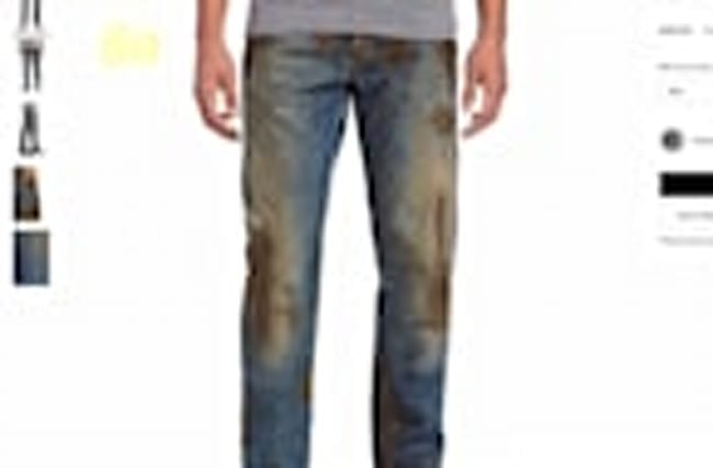 Nordstrom Is Selling Fake Muddy Jeans for a Ridiculous Amount