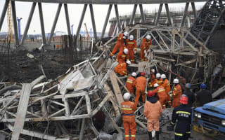 At least 40 dead in China construction site collapse