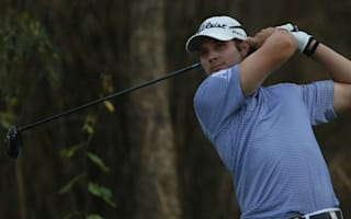 Uihlein equals course record to lead in Thailand