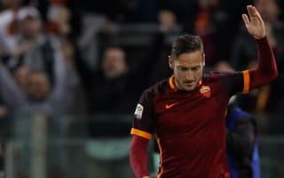 Serie A Review: Super-sub Totti inspires Roma comeback, Juve edge closer to title