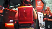 MSI también tiene su mochila para jugadores de lo virtual