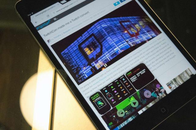 Twitch para iOS ya permite pantalla partida y otros trucos de iOS 9