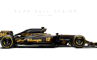 2017 F1 cars look stunning in retro liveries