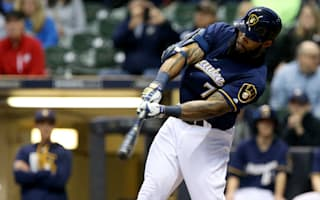 Thames homers again for Brewers, Red Sox win