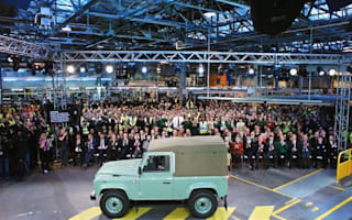 Final Land Rover Defender rolls off the production line