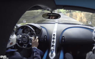 Amazing onboard footage of Bugatti Chiron's Goodwood run