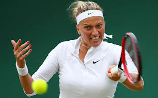 Kvitova, Radwanska lay down Wimbledon markers