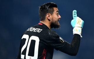 Romero does not regret joining Man Utd as De Gea back-up