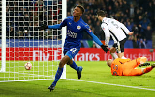 Leicester City 3 Derby County 1 (after extra time): Foxes ease pressure on Ranieri